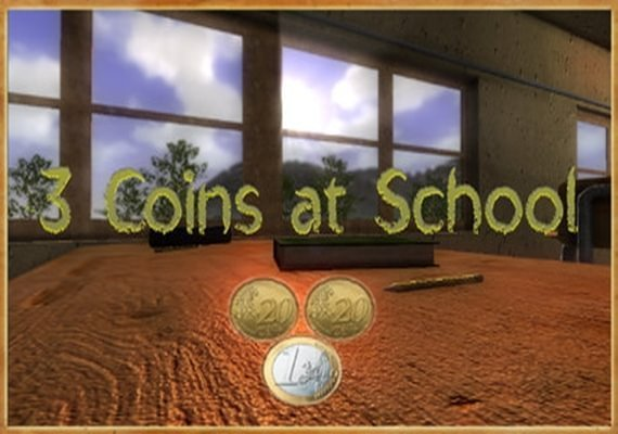 Coins At School 3 Coins