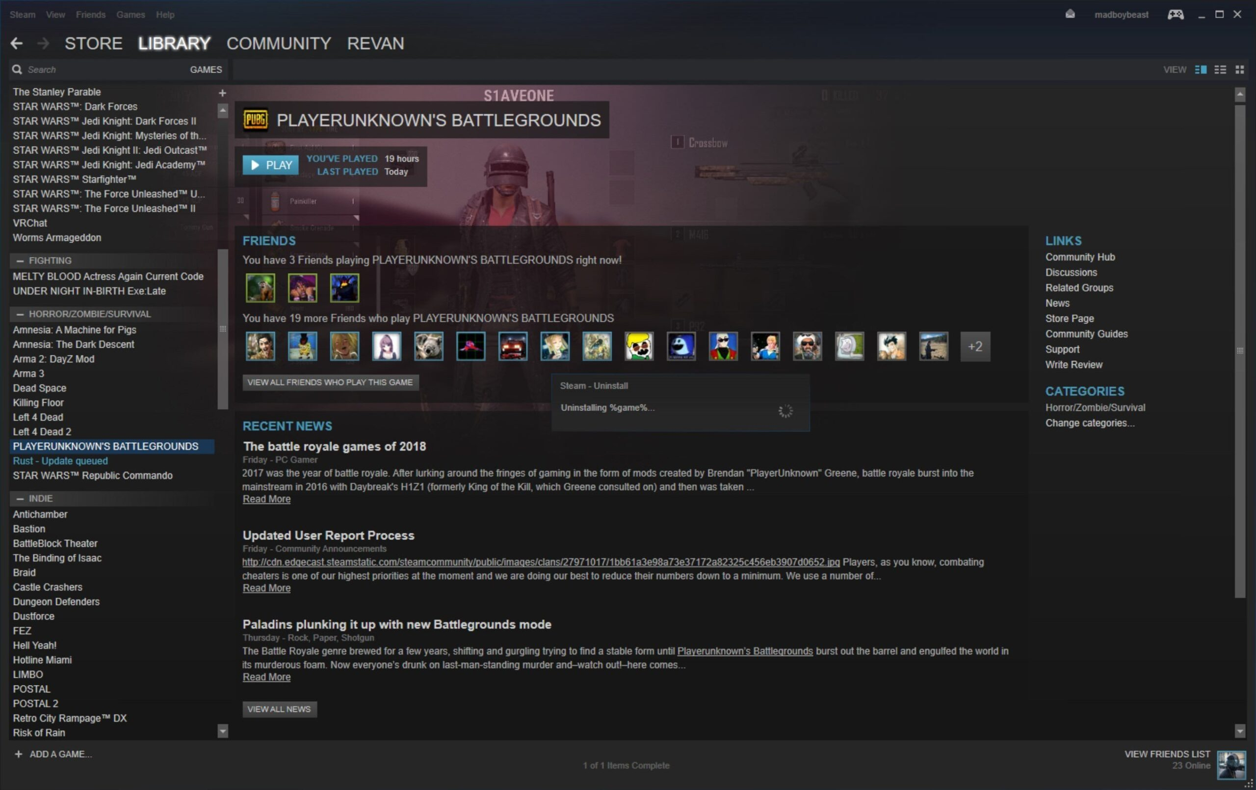 Does Uninstalling Steam Games Remove Saves My PCx27 Hard Drive